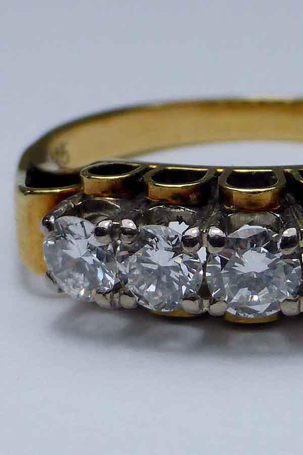 Antiker Diamantring - Antiquitäten Ankauf Weiss München