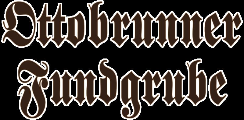Schriftzug Ottobrunner Fundgrube München Kontur
