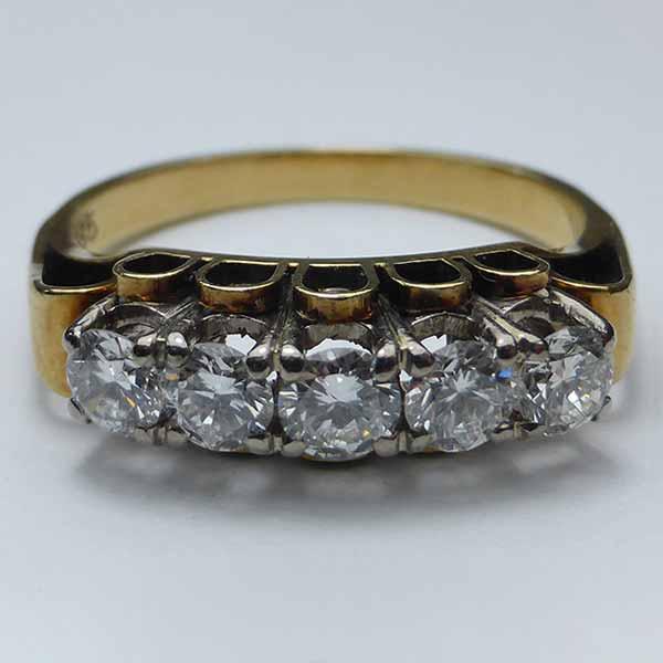 Antiker Diamantring - Antiken Schmuck verkaufen München