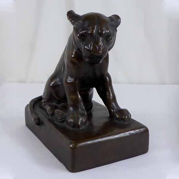 Bronze Löwe - Bronzefiguren verkaufen München
