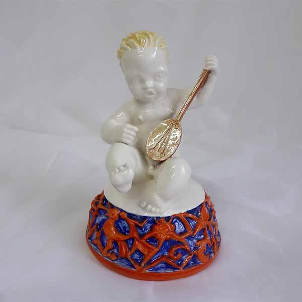 Altes Porzellan verkaufen - Keramik Figur